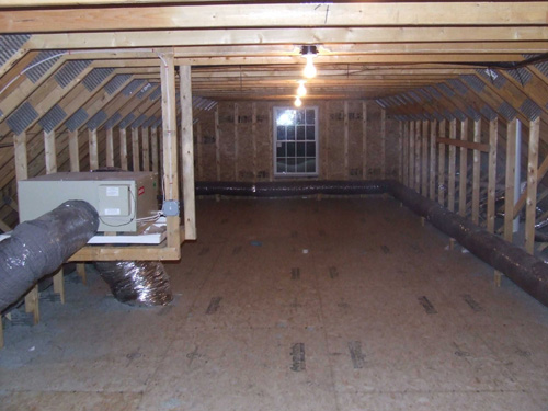 Creating Storage Room With Attic Trusses Home