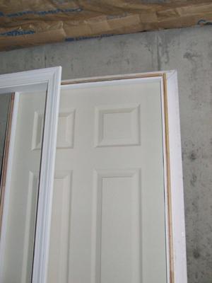 How to install prehung interior doors with split jamb for How to build a door jamb for interior doors