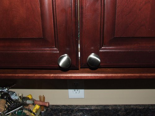 How To Install Cabinet Hardware Using A Template