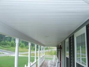 Vinyl Beadboard Soffit For Porch Ceilings