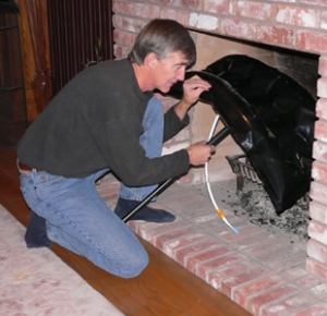 Fireplace Chimney Draft Stop Plug Balloon