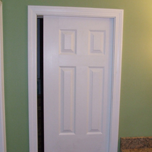 How To Trim Pocket Door Jambs Home Construction Improvement