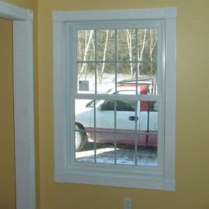 Window Casing Colonial Style Fluted Trim