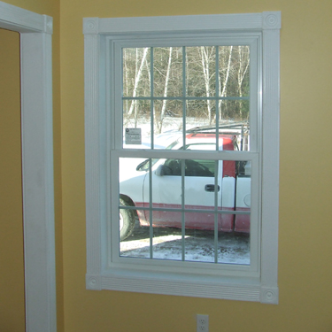 Sample Colonial Style Fluted Window Amp Door Trim