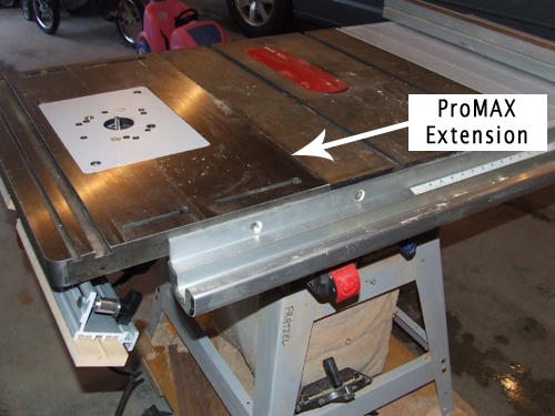 Promax router table installed on delta table saw home promax router table installed on delta table saw greentooth Image collections