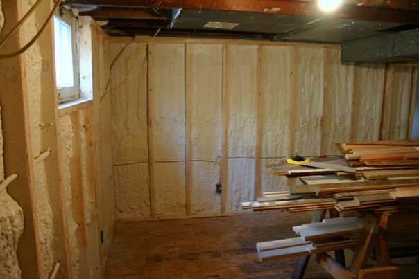 Insulating Basement Walls With Spray Foam