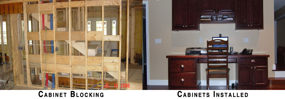 Cabinet Blocking Saves Time And Money