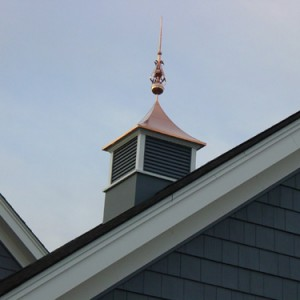 Copper Cupola with Finial