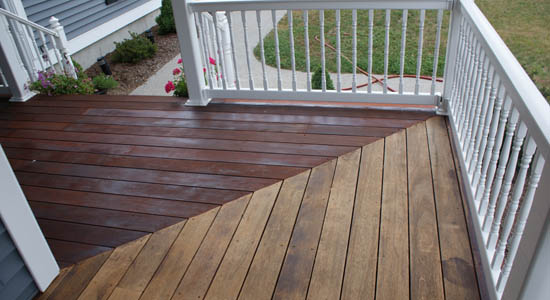 One Time Wood Protector Before Amp After Cambara Decking