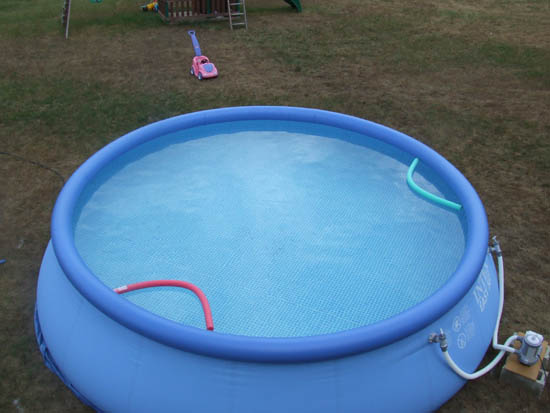 Intex easy set pool review for Plastik pool rund