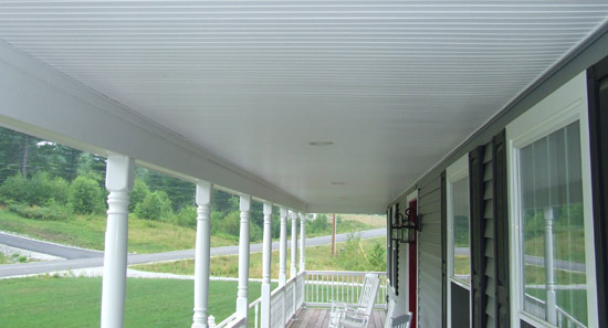 Vinyl Beadboard Porch Ceilings