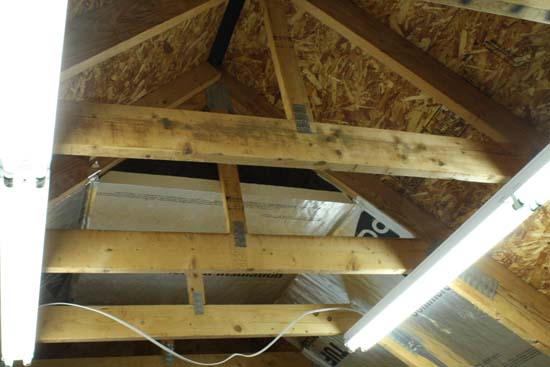 Insulated Attic Trusses - Home Construction Improvement
