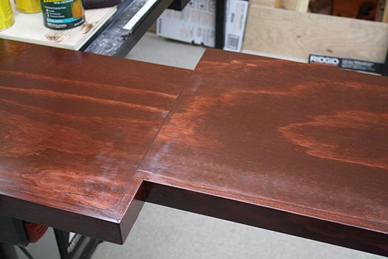 How To Stain Pine Look Like Mahogany Or Brazilian Cherry