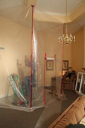 Dust Containment At A Health Care Facility Home
