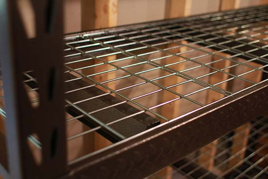 Gladiator Heavy Duty Wire Shelving - Home Construction Improvement