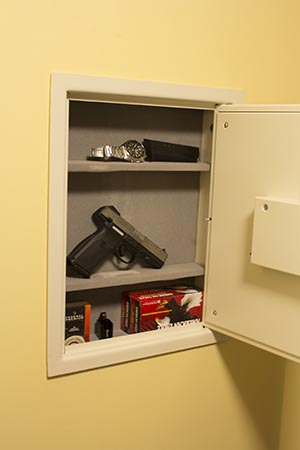 How To Install A Biometric Wall Safe