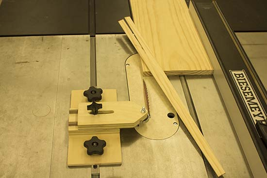 How To Make A Thin Strip Table Saw Jig