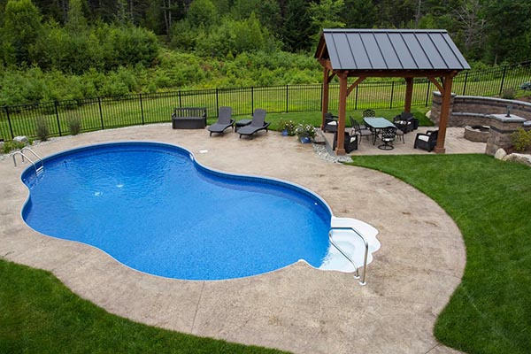 Inground Swimming Pools Types Equipment Amp Landscaping