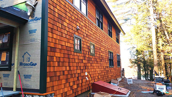 Drainage Plane For Cedar Shingle Siding Home