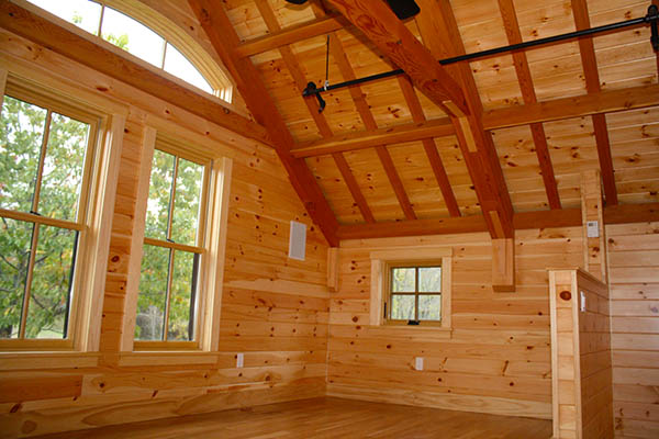 Durgin And Crowell Enhance Pre Coated Pine Home