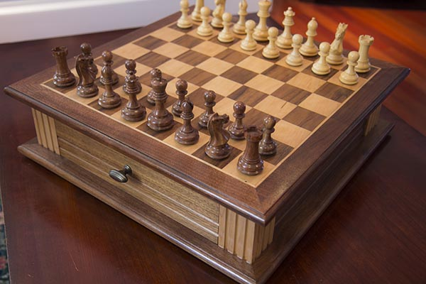 Building Custom Chess Board - Home Construction Improvement